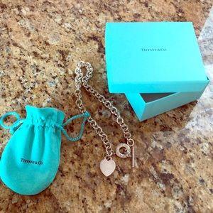 Tiffany's necklace.